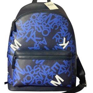 MICHAEL KORS COOPER BLACK ADMIRAL ATLANTIC BLUE